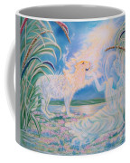 Chloe The Flying Lamb Productions.            Ask The Beasts And They Will Teach You. Coffee Mug