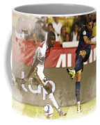 Angel Di Maria Shoot The Ball Coffee Mug