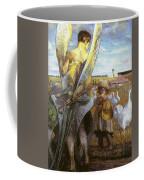 angel i will follow you Jacek Malczewski Coffee Mug
