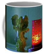 Angel In Candle Light Coffee Mug