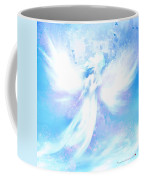 Angel In Hotty Totty In Thick Paint Coffee Mug