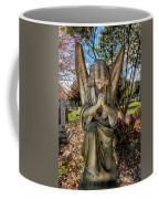 Angel In Prayer Coffee Mug
