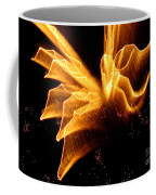 Angel In The Sky Fireworks Coffee Mug