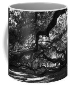 Angel Oak Limbs Bw Coffee Mug