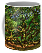 Angel Oak Morning Shadows Charleston South Carolina Coffee Mug