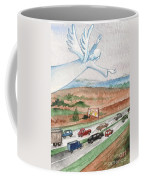 Angel Of Safety Coffee Mug