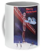 Angel Of The North, Snowman Coffee Mug