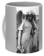 Angel On The Ground At Cavalry Cemetery, Nyc, Ny Coffee Mug