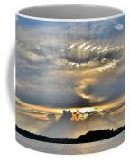 Angel Ray Sunset Coffee Mug