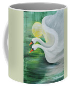 Angel Swans Coffee Mug