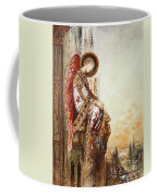 Angel Traveller Coffee Mug by Gustave Moreau