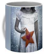 Angel With A Star Coffee Mug by Joana Kruse