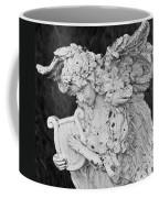 Angel With Harp Coffee Mug