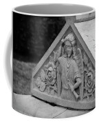 Angel With Horn Carving Coffee Mug