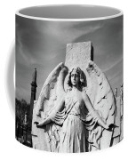 Angel With Outspread Wings And Other Angels In The Background Coffee Mug