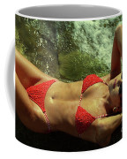 Angela Red Bikini-0721 Coffee Mug