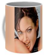 Angelina Jolie - Cold Seduction  Coffee Mug
