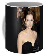Angelina Jolie Coffee Mug by Nina Prommer