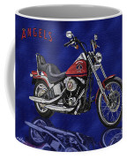 Angels Harley - Oil Coffee Mug