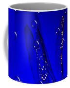 Angels Wings Blue Coffee Mug