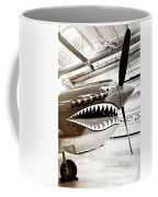 Anger Management Bw Palm Springs Air Museum Coffee Mug