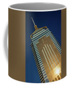 Angled View Of Central Plaza At Sunset Coffee Mug