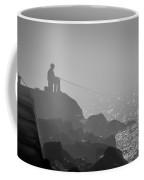 Angling In A Fog  Coffee Mug