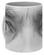 Angry Eyes Coffee Mug