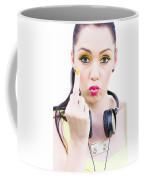 Angry Music Coffee Mug