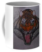 Angry Tiger Coffee Mug