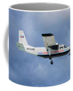 Anguilla Air Services Britten-norman Bn-2a-26 Islander 117 Coffee Mug
