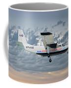 Anguilla Air Services Britten-norman Bn-2a-26 Islander 113 Coffee Mug
