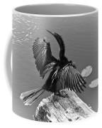 Anhinga On Lake Coffee Mug