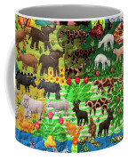 Animal Tapestry Coffee Mug