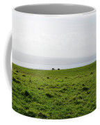 Animals Grazing In A Field Along The Cliffs Of Moher Coffee Mug