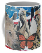 Animals Of Freedom  Coffee Mug