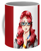 Anime Girl Coffee Mug