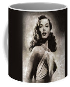 Ann Miller, Vintage Actress Coffee Mug