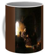 Anna And Blind Tobit Coffee Mug