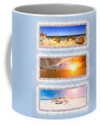 Anna Maria Island Beach Collage Coffee Mug