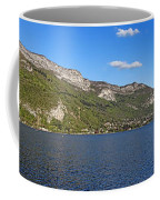 Annecy Lake Panorama Coffee Mug