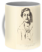 Anneliese Halbe (bildnis Einer Jungen Dame (anneliese Halbe)) Coffee Mug