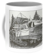 Annual Haul Out Chris Craft Yacht Coffee Mug