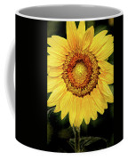 Another Artistic Sunflower Coffee Mug
