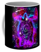 Another Cosmic Sea Turtle Coffee Mug