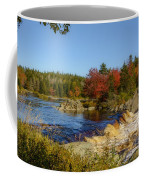 Another View Of Liscombe Falls Coffee Mug
