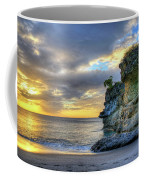 Anse Mamin Rock Formation At Sunset Saint Lucia Caribbean Sunset Coffee Mug
