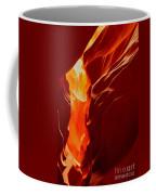 Antelope Textures And Flames Coffee Mug
