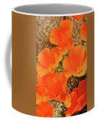 Antelope Valley Poppy Portrait Coffee Mug