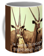 Antelopes Coffee Mug